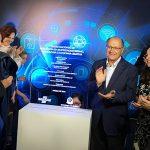 Autoridades na inauguração do Centro Nacional de Referência em Empreendedorismo