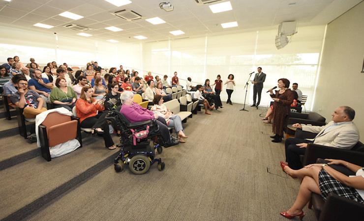 Biblioteca de São Paulo foi cenário do lançamento do DIVERSOS - LIVROS ACESSÍVEIS E INCLUSIVOS