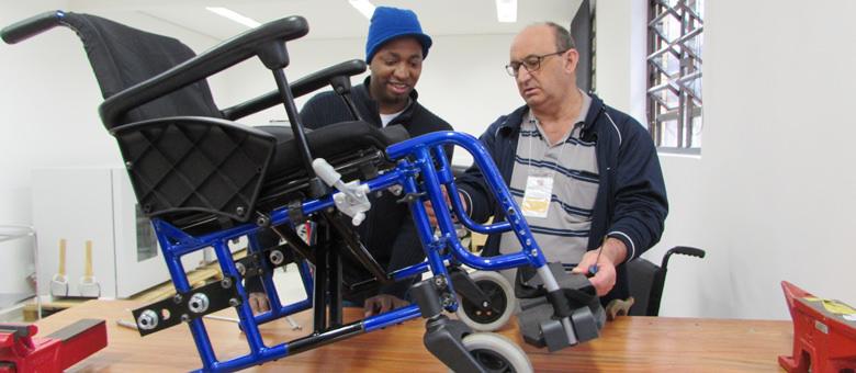 Manutenção de Cadeira de Rodas