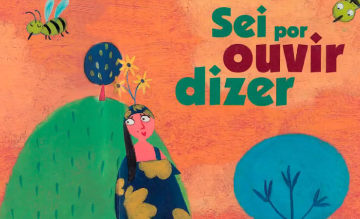 Acesso à página com o vídeo Sei por Ouvir Dizer, do projeto Diversos Livros Acessíveis e Inclusivos