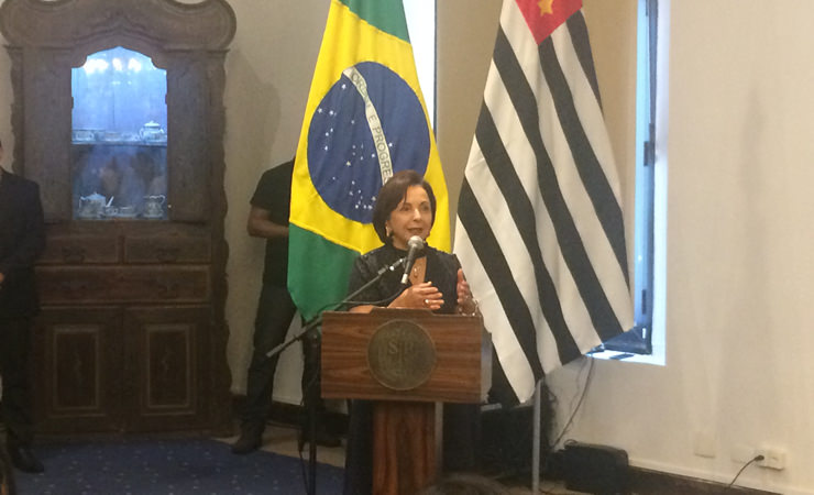 A Secretária de Estado dos Direitos da Pessoa com Deficiência de São Paulo, Dra. Linamara Rizzo Battistella, relatou a importância do 1º Encontro da Pessoa com Deficiência – Acessibilidade e Inclusão, organizado pela Associação de Pais e Amigos dos Excepcionais (APAE) de São Paulo