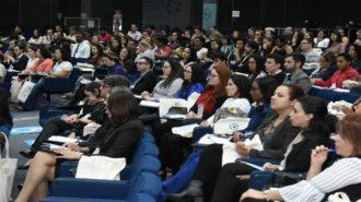Foto do auditório da Secretaria de Estado dos Direitos da Pessoa com Deficiência de São Paulo.