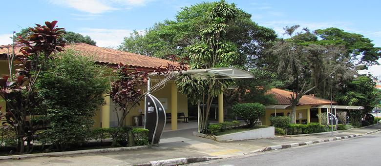 Imagem da entrada das casas 18 e 17 do Centro de Tecnologia e Inovação