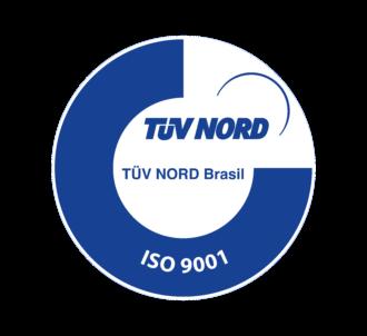 Logomarca do organismo TUV Nord Brasil - ISO 9001
